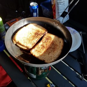Gotta have a grilled cheese sandwich