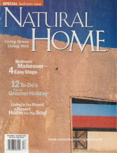 Natural Home Cover
